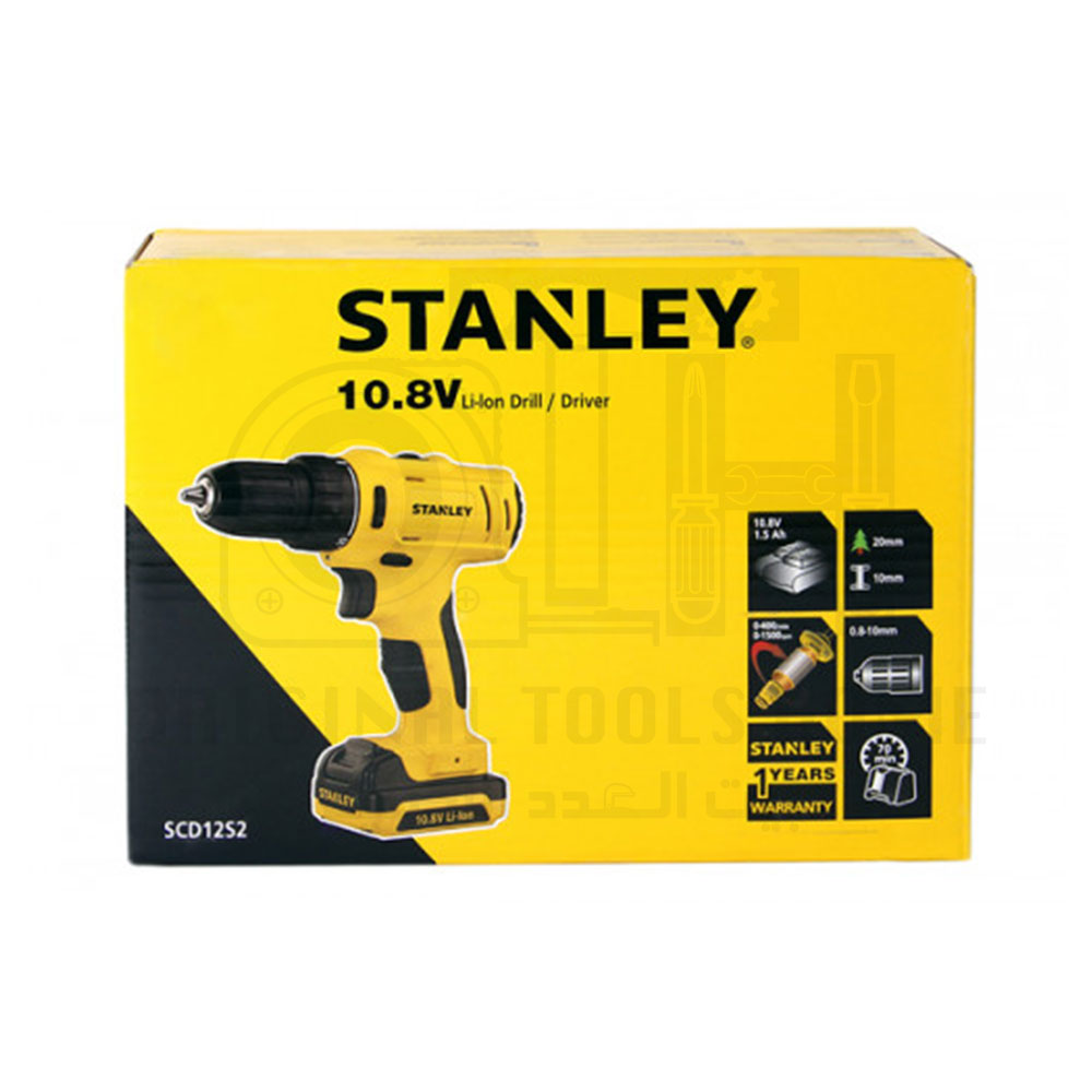 شنيور فك وربط 10.8 فولت + بطارية اضافية ستانلى - STANLEY