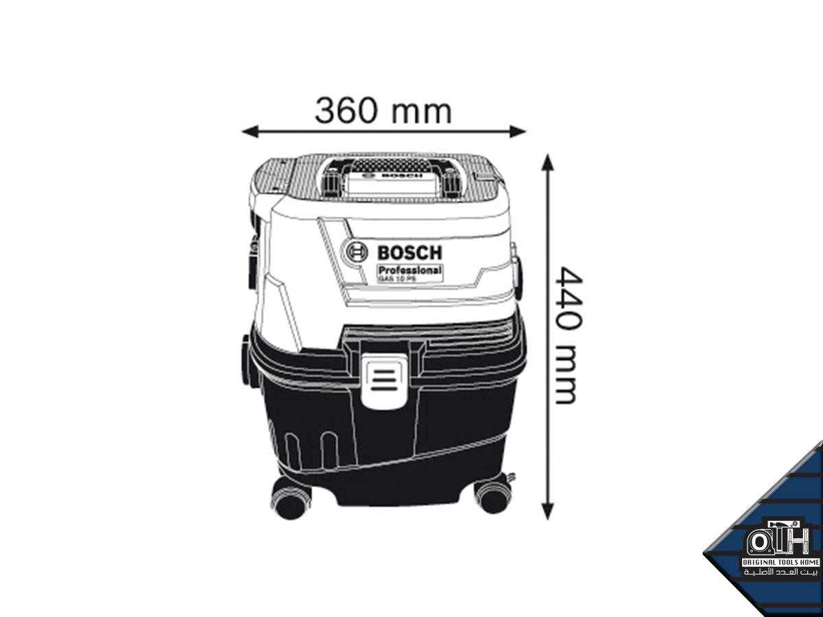 مكنسة كهربائية 15 لتر 1100 وات بوش الاحترافي - BOSCH PROFESSIONAL